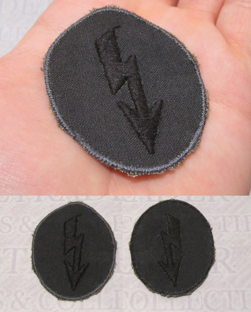 Signals Operator with Engineer Personnel Army Trade Badge