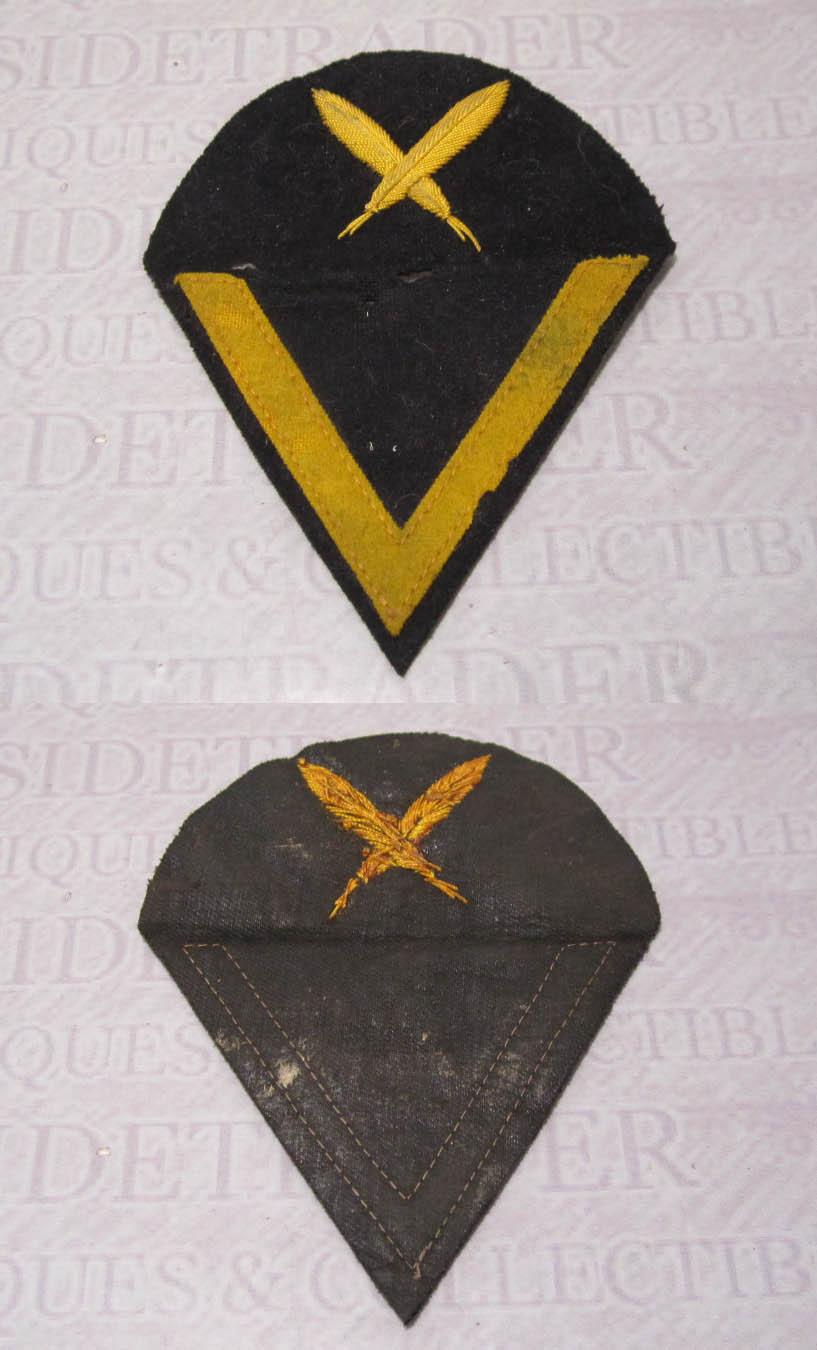 Navy Able Seaman Clerical Chevron