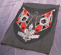 Heer Artillery Standart Flag Bearers Patch