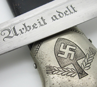 Numbered & Personalized RAD EM Dagger