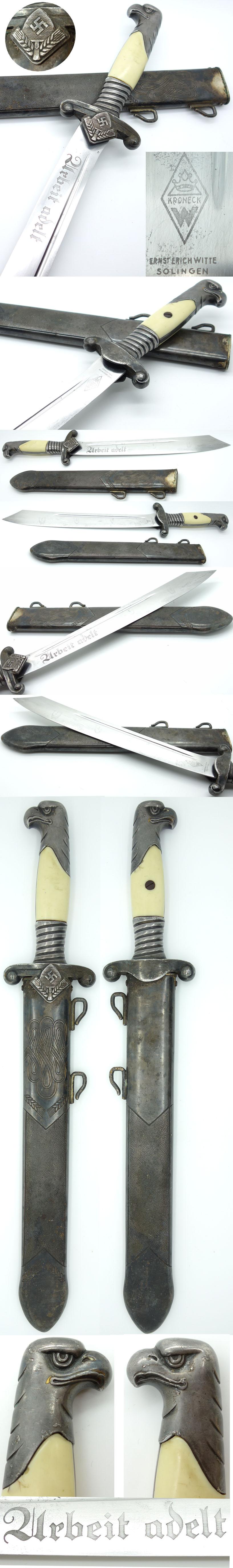 Rad Leader Dagger by Kroneck