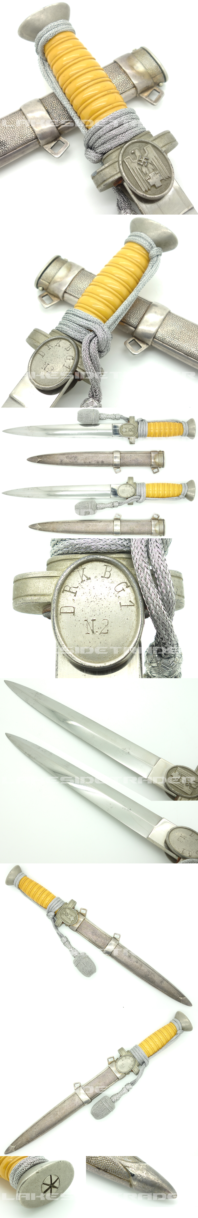 Personalized - Red Cross Leader Dagger