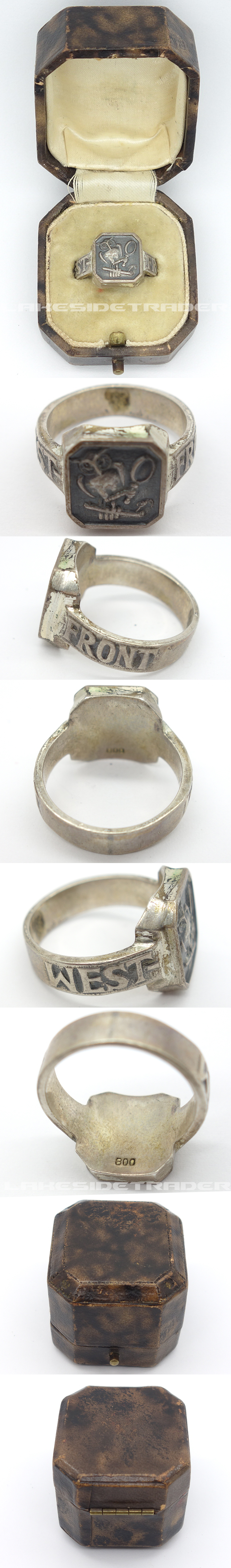 Luftwaffe West Front Ring in issue box