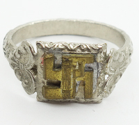 German/Italian Friendship Ring