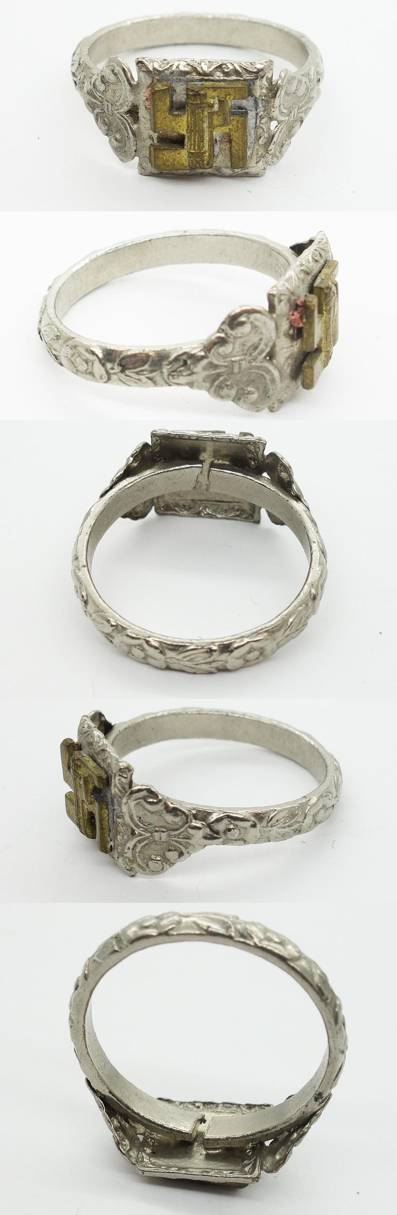 German/Italian Friendship Ring