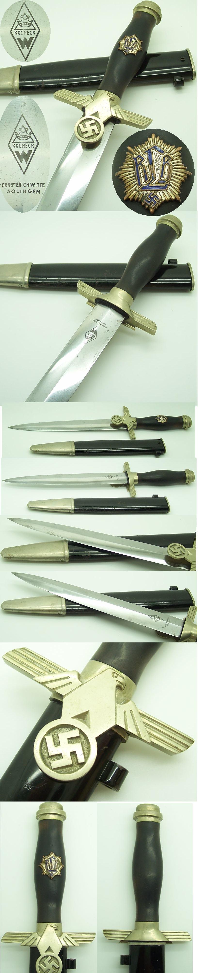 Kroneck RLB 1st Model EM Dagger