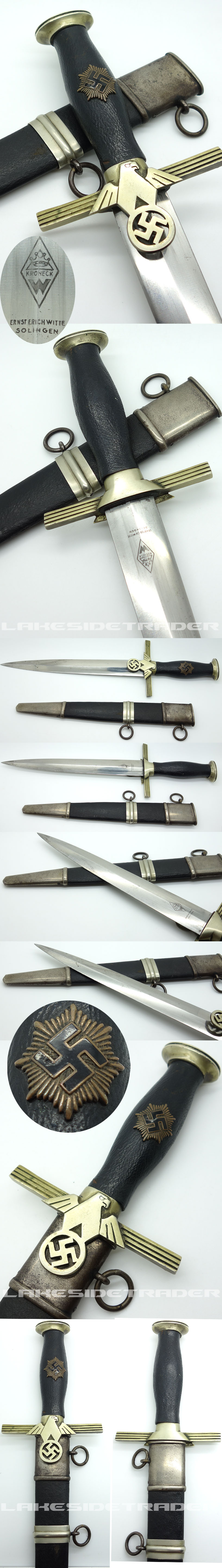 RLB 2nd Model Leader Dagger by Kroneck
