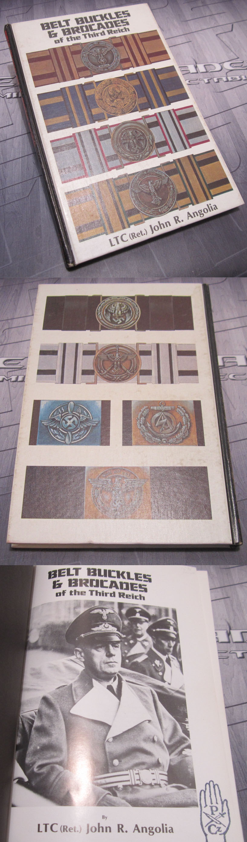 Belt Buckles and Brocades of the Third Reich