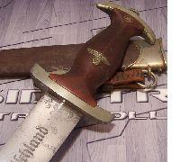 Early Gebruder Bell SA Dagger
