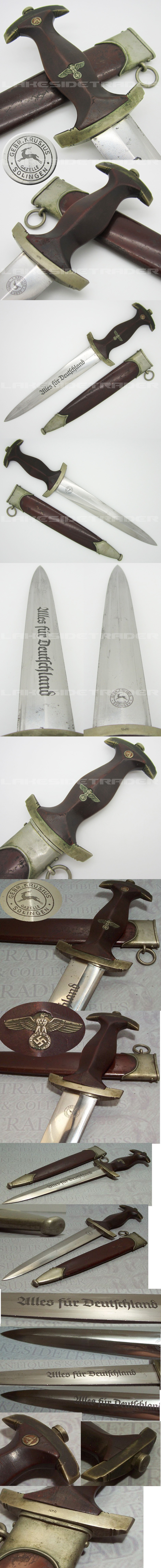 Early SA Dagger by Gebr. Krusius