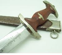 Early SA Dagger by Rudolf Schmidt