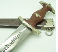 Early SA Dagger by Albert Dorschel