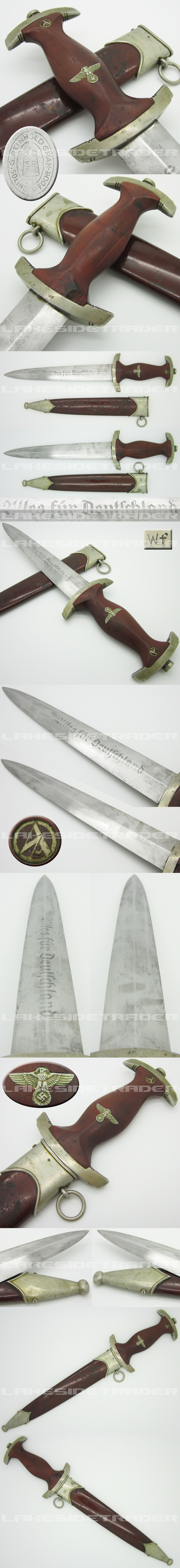 Early SA Dagger by G. Reinhold