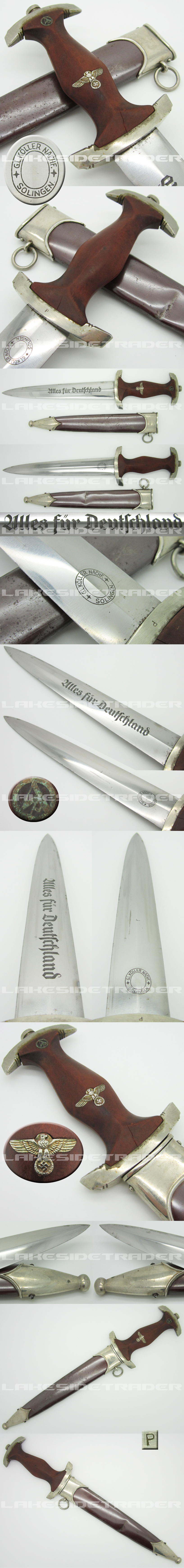 Early SA Dagger by Köller Nachf