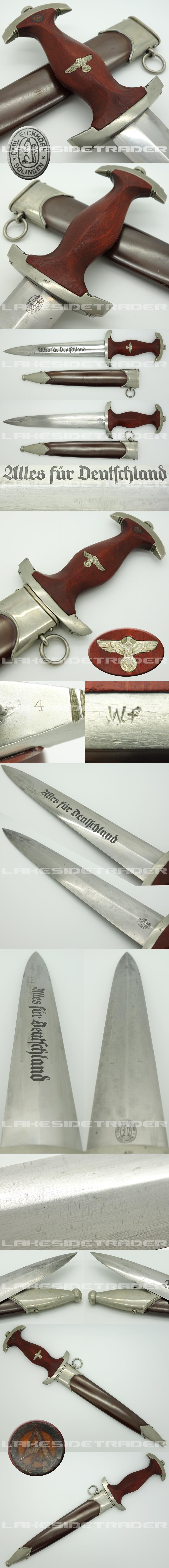 Ground Röhm SA Dagger by Eickhorn