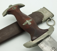 Rare Early SA Dagger by Wilh. Krieger