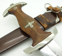 Early SA Dagger by Carl Fr. Kuhrt with Vertical Hanger
