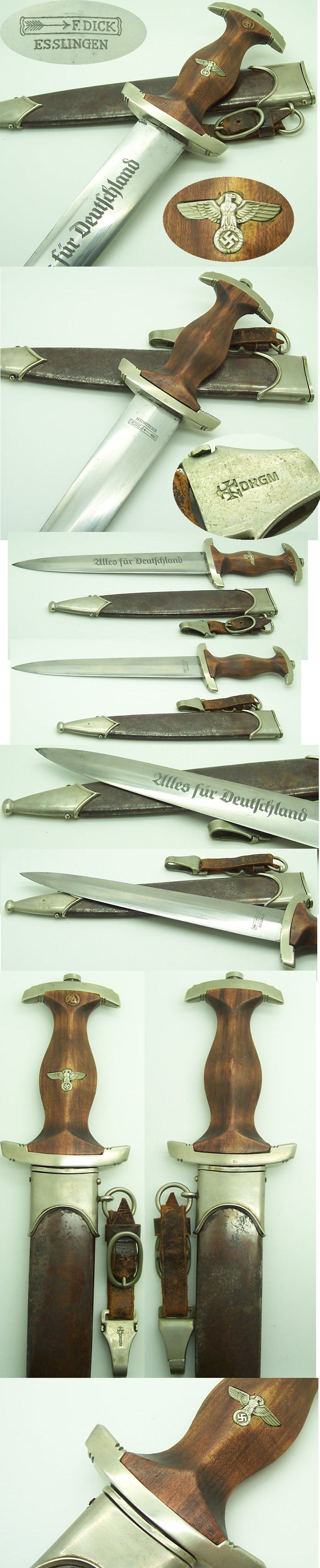 Early SA Dagger by F. Dick
