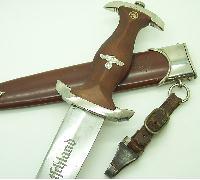 RZM M7/12 SA Dagger by WMW - Waffenfabrik Max Weyersberg