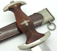 Very Rare - Early SA Dagger by A. Werth