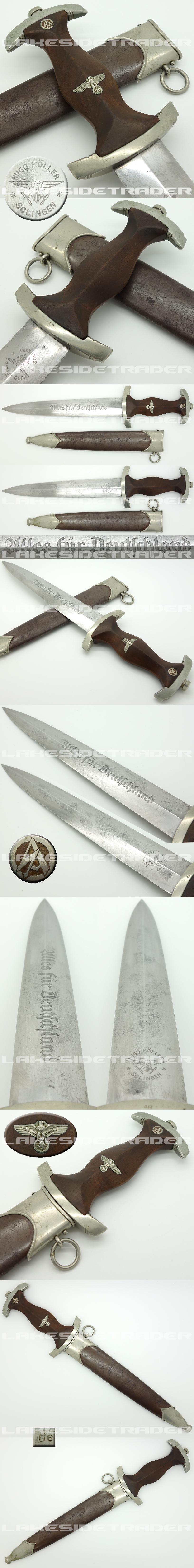Early SA Dagger by Hugo Köller