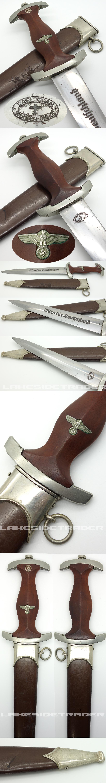 Rare Early SA Dagger by Carl Grah
