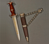 Chained SA High Leaders Dagger by Carl Eickhorn