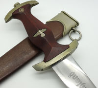 Early Personalized SA Dagger by Karl Malsch