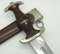 Early Personalized SA Dagger by Curdts Nachf