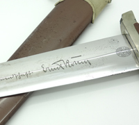 Full Röhm - SA Dagger by Carl Eickhorn