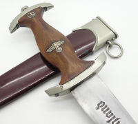Early SA Dagger by Haenel with a unique blade