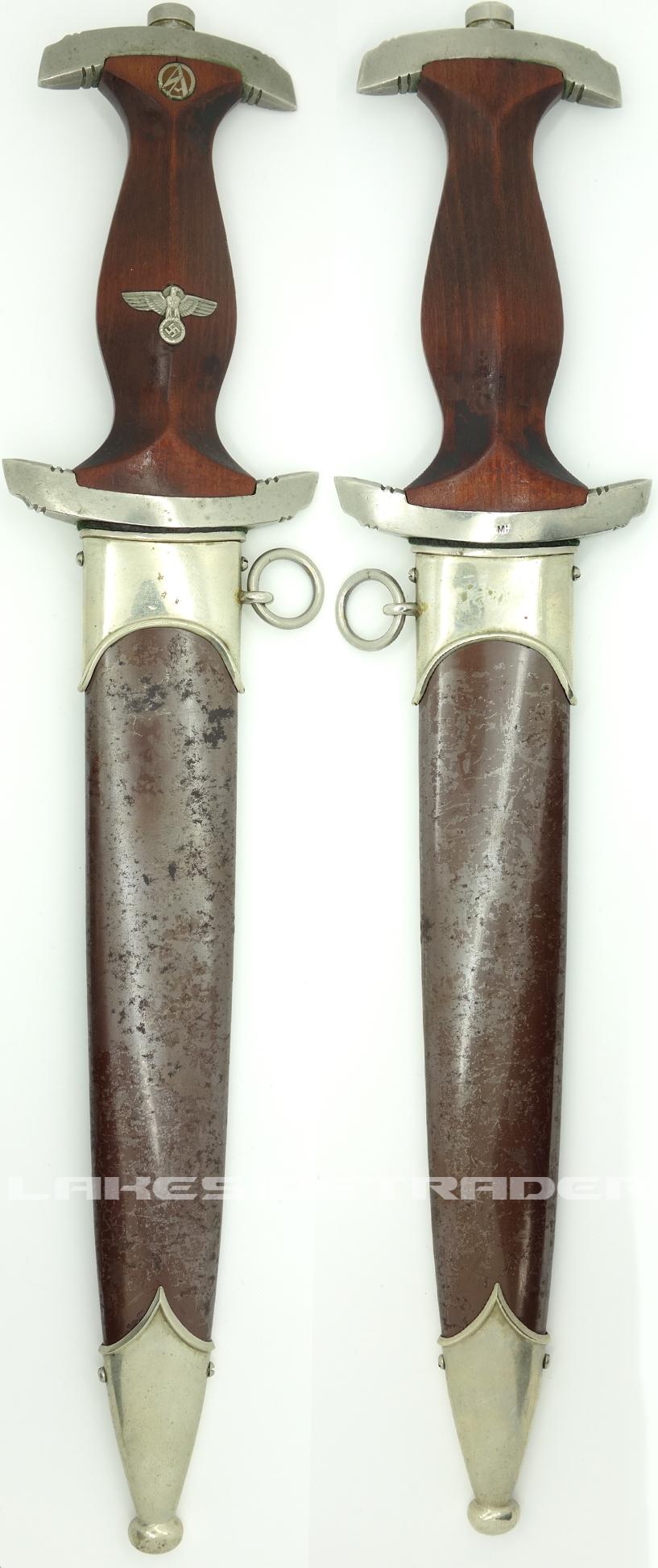 Rare - Early SA Dagger by Ehr. Reich