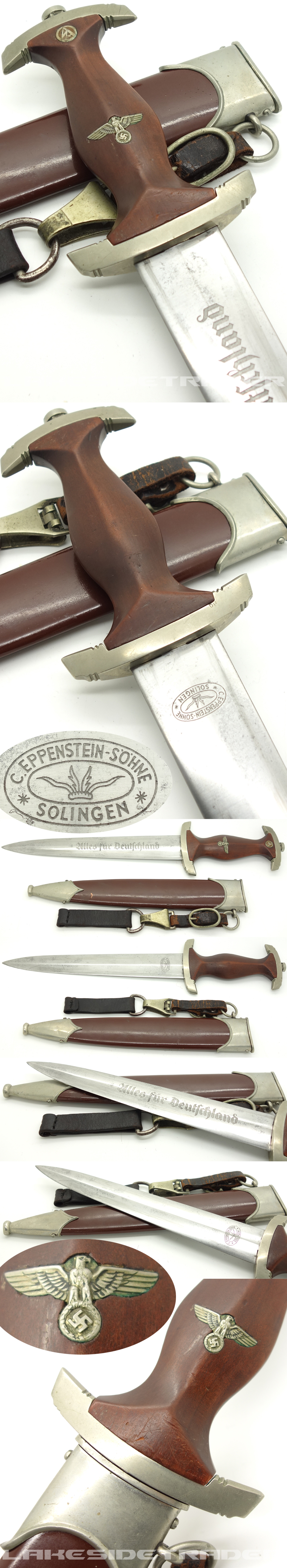 Early SA Dagger by C. Eppenstein