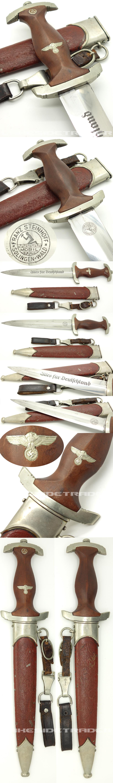 Early SA Dagger by Franz Steinhoff