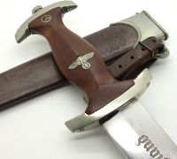 Rare Early SA Dagger by Gustav Wirth