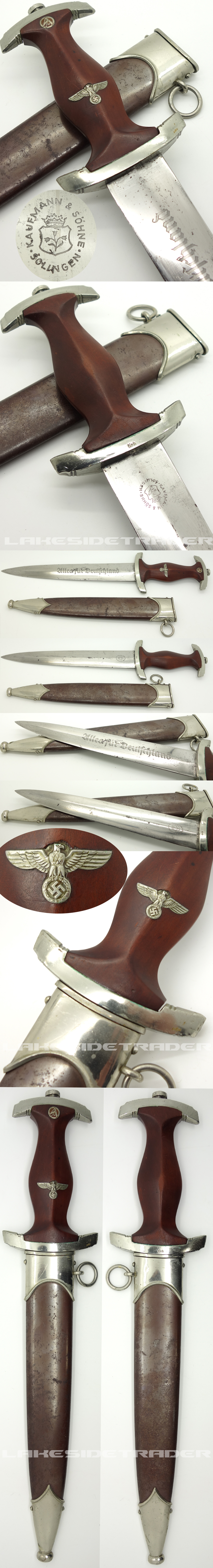 Early SA Dagger by Kaufmann & Söhne
