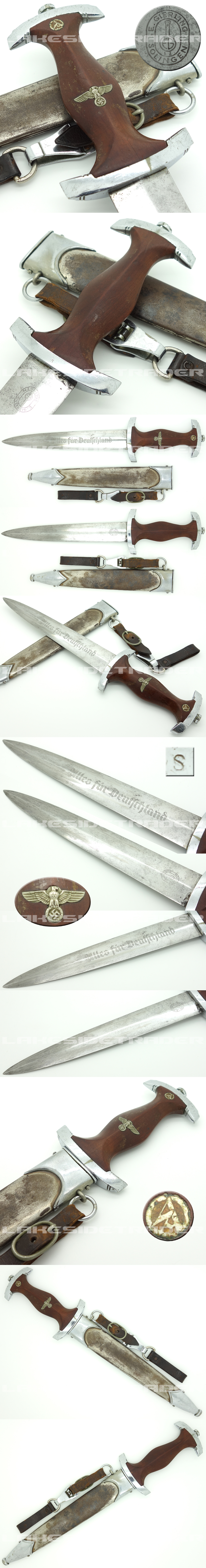 Unique, Rare and Early - SA Dagger by E. Gierling