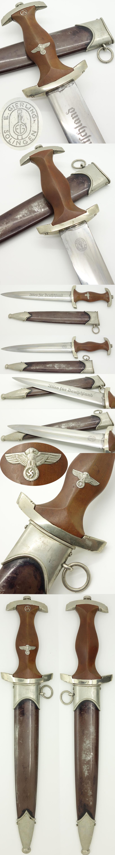 Rare Early NSKK Dagger by E. Gierling