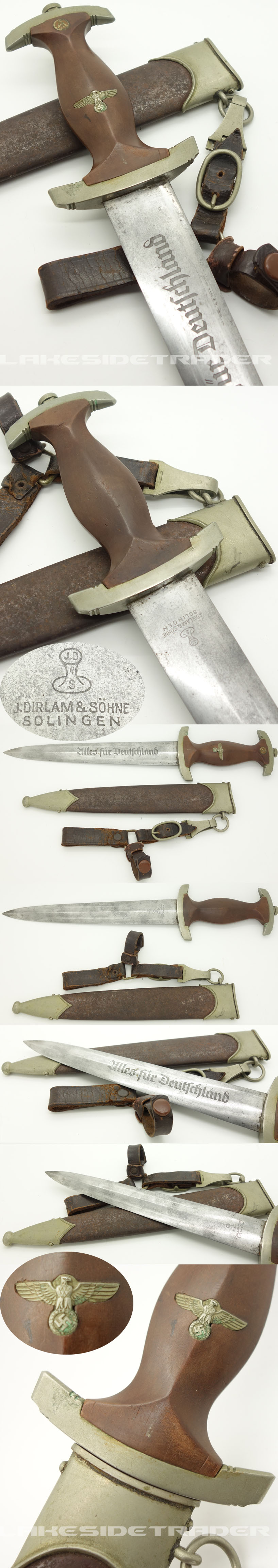 Early SA Dagger by J. Dirlam & Söhne