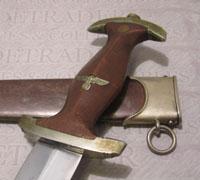 Early C & R Linder SA Dagger