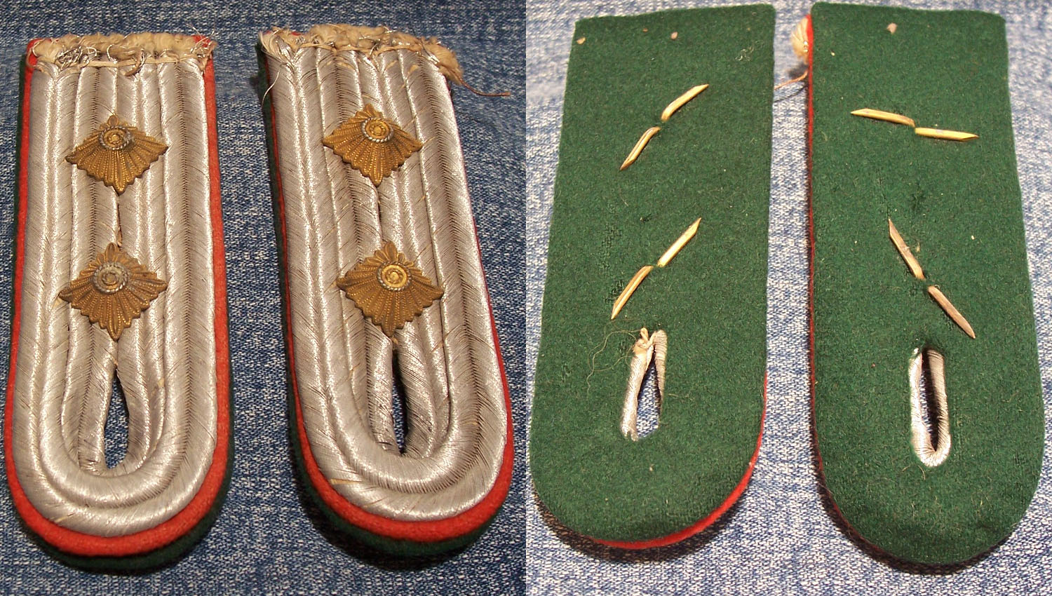 Army Hauptmann Offical's Shoulder Boards
