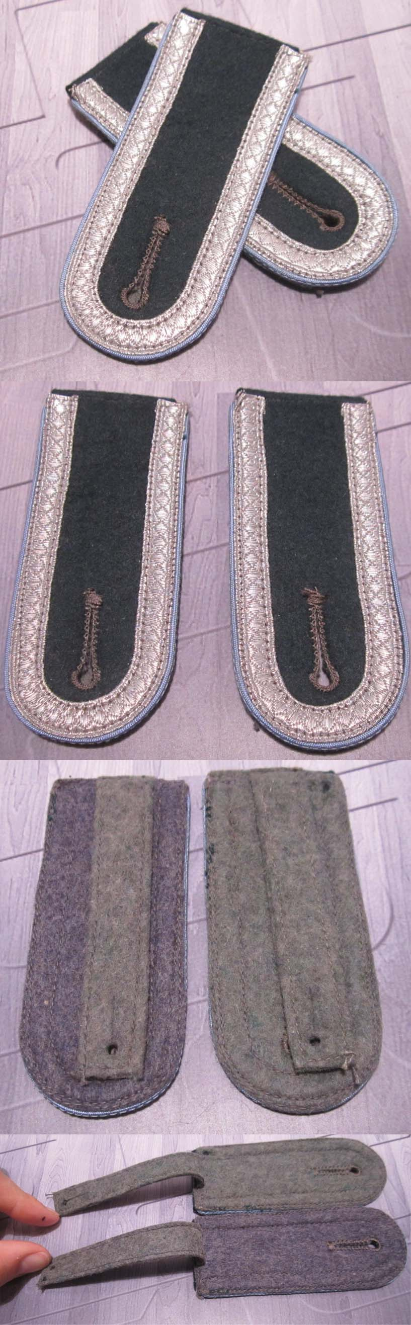 Army Unteroffizier's Transport Shoulder Board's