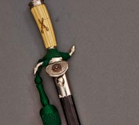Personalized Rifle Association Dagger by WKC