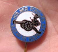Cologne Artillery Carnival Stickpin