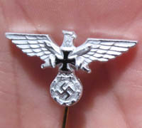 Veterans Eagle Stickpin