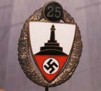 DRKB Veterans 25 Year Membership Stickpin