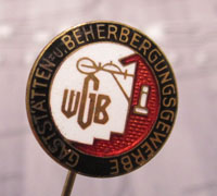 WBG Catering and Accommodation Stickpin