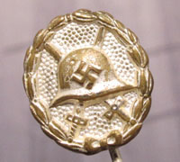 Silver Condor Legion Wound Badge Stickpin