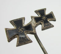 2nd and 1st Class Iron Cross Stickpin
