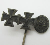 EK1, EK2 and Black Wound Badge 3pc Stickpin